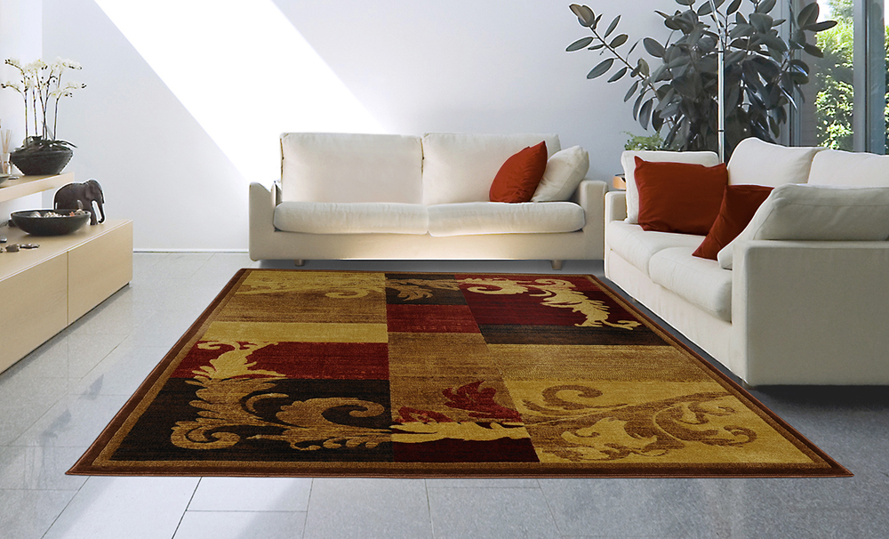 modern casual 8x11 area rug large carpet