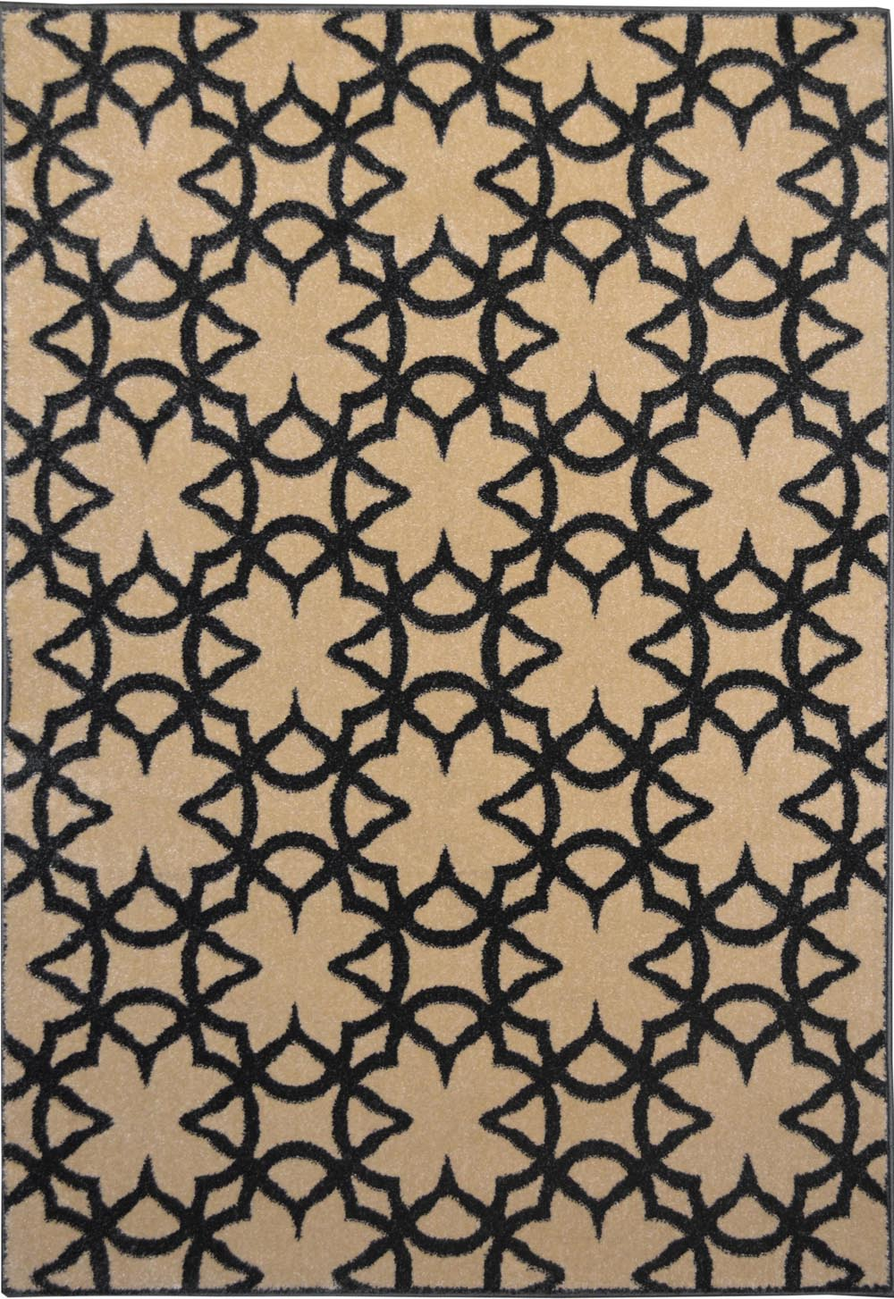 Modern geometric irongate 3x5 area rug contemporary print for Geometric print area rugs