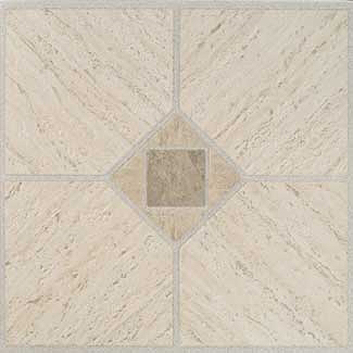 Beige Vinyl Floor Tile 36 Pcs Self Adhesive Flooring Actual 12 X 12