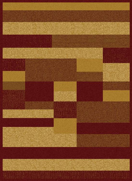 Home Dynamix Area Rugs: Royalty Rug: HD608-210 Red Gold at Sears.com