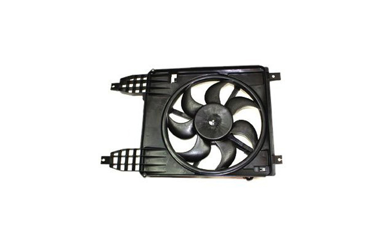 Radiator Condenser Cooling Fan fit Pontiac G3 09-10 Wave 09 Chevy Aveo 09-11