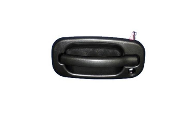 Driver replacement outside front texture black door handle for 03 silverado door handle replacement