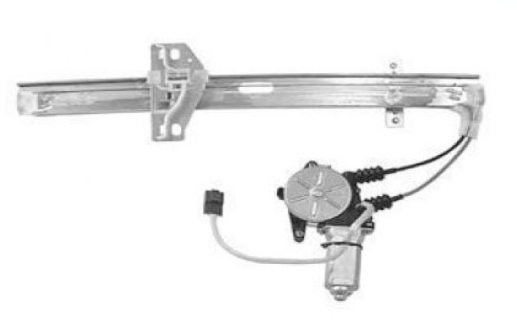 Replacement rear driver side window regulator for 90 93 for 1991 honda accord window regulator