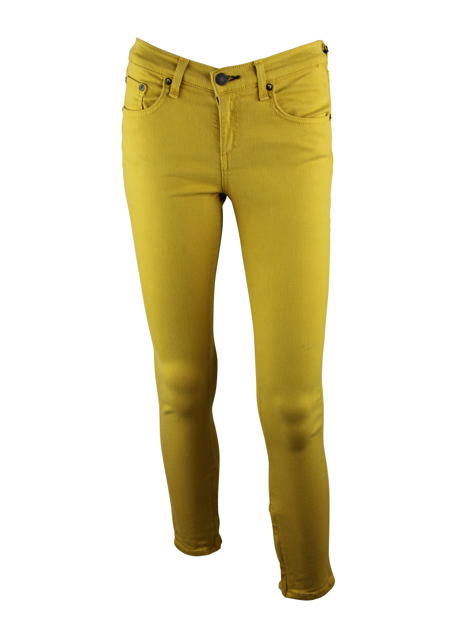 Popular Rag U0026 Bone/JEAN Womens Mustard Zipper Capri Skinny Jeans 26 $187 New | EBay