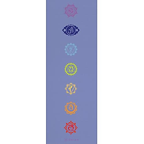 Chakra Yoga Amp Fitness Mat Gaiam Yoga Equipment Ebay