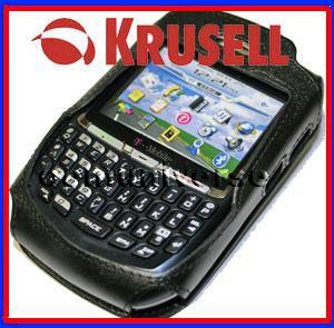 OEM KRUSELL BLACKBERRY 8700 8707 R C F G V LEATHER CASE CLIP HOLSTER