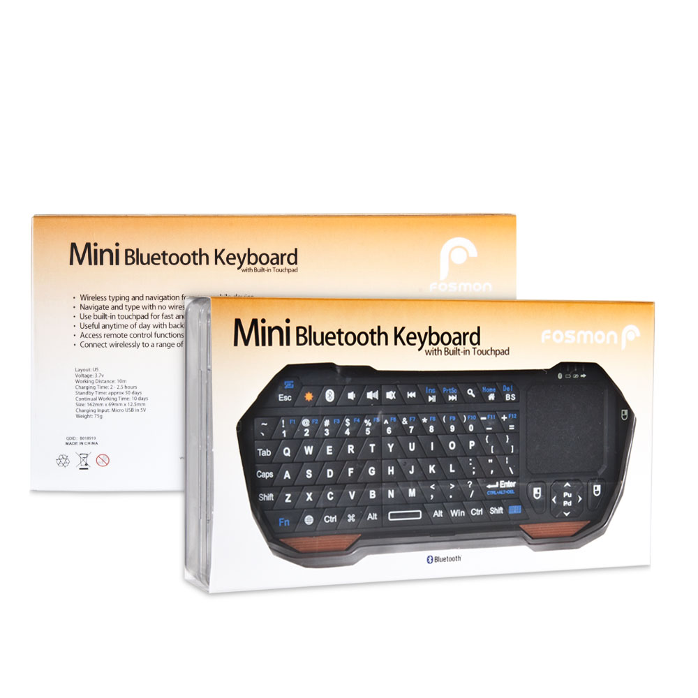 Mini Portable Wireless 10m Remote Bluetooth Keyboard With