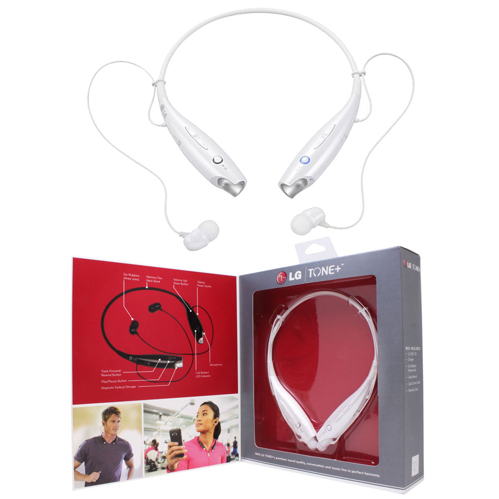 LG HBS LG TONE Bluetooth Wireless Headset