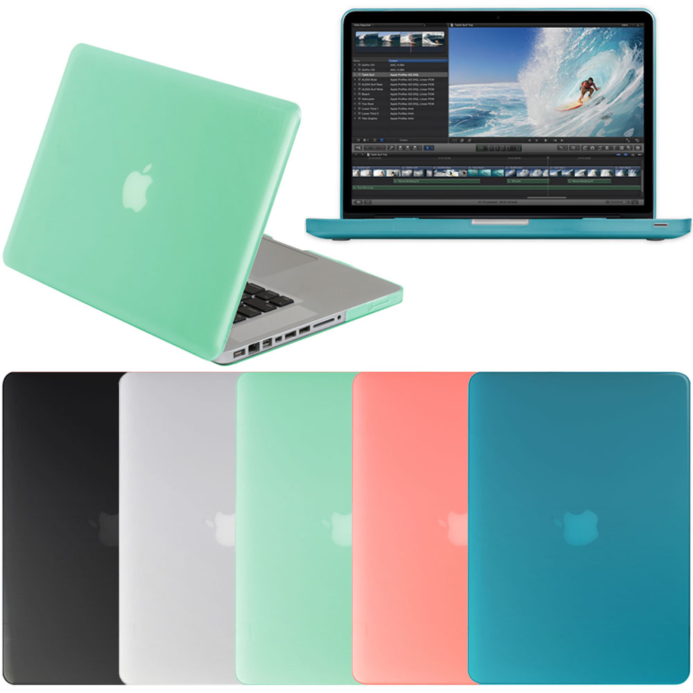"""Frosted Skin Matte Hard Cover Shell Case for Macbook Pro 13 13"""" A1278 NEW Colors"""