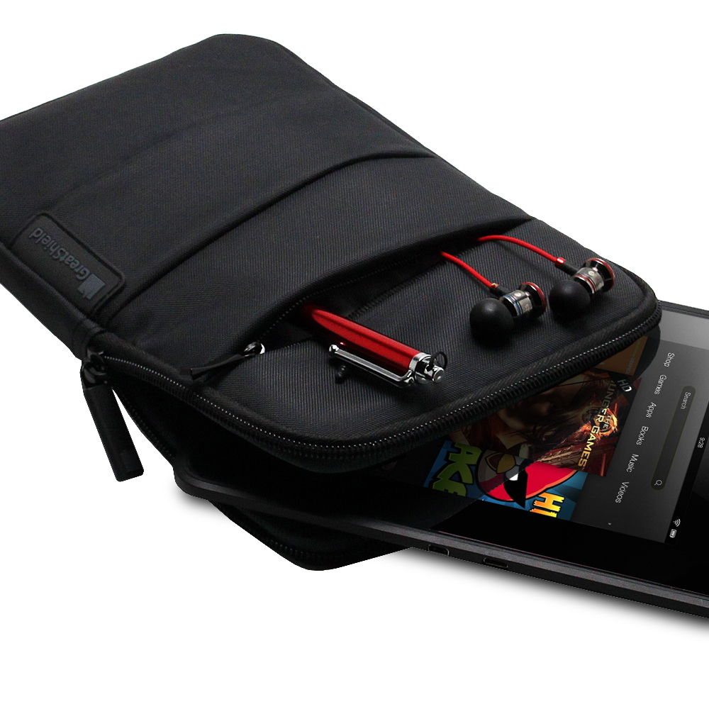 greatshield soft sleeve pouch case nylon zipper bag for apple ipad mini 1 2 3 4 ebay. Black Bedroom Furniture Sets. Home Design Ideas