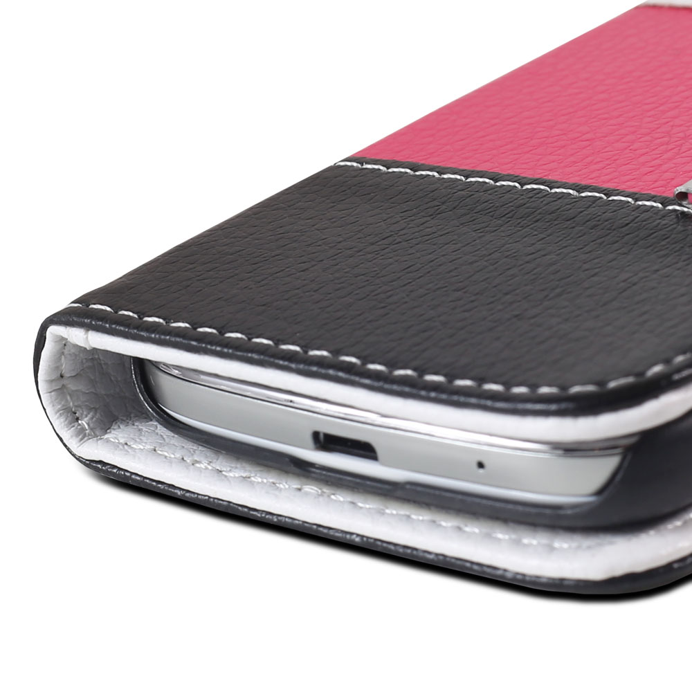 Leather Folio Wallet Card Case Cover for Samsung Galaxy S4 Mini i9190 5 Colors