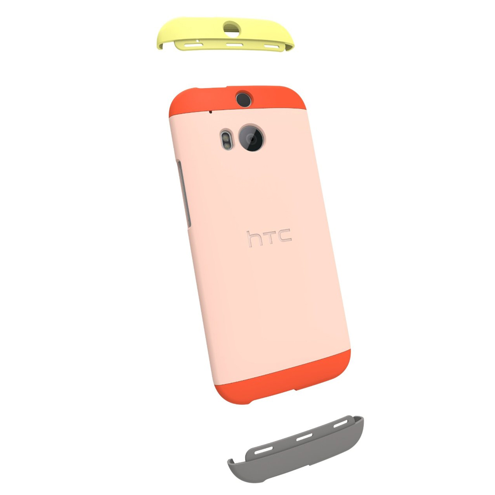for HTC One M8 Colorful Hard Protective Double Dip Case ...