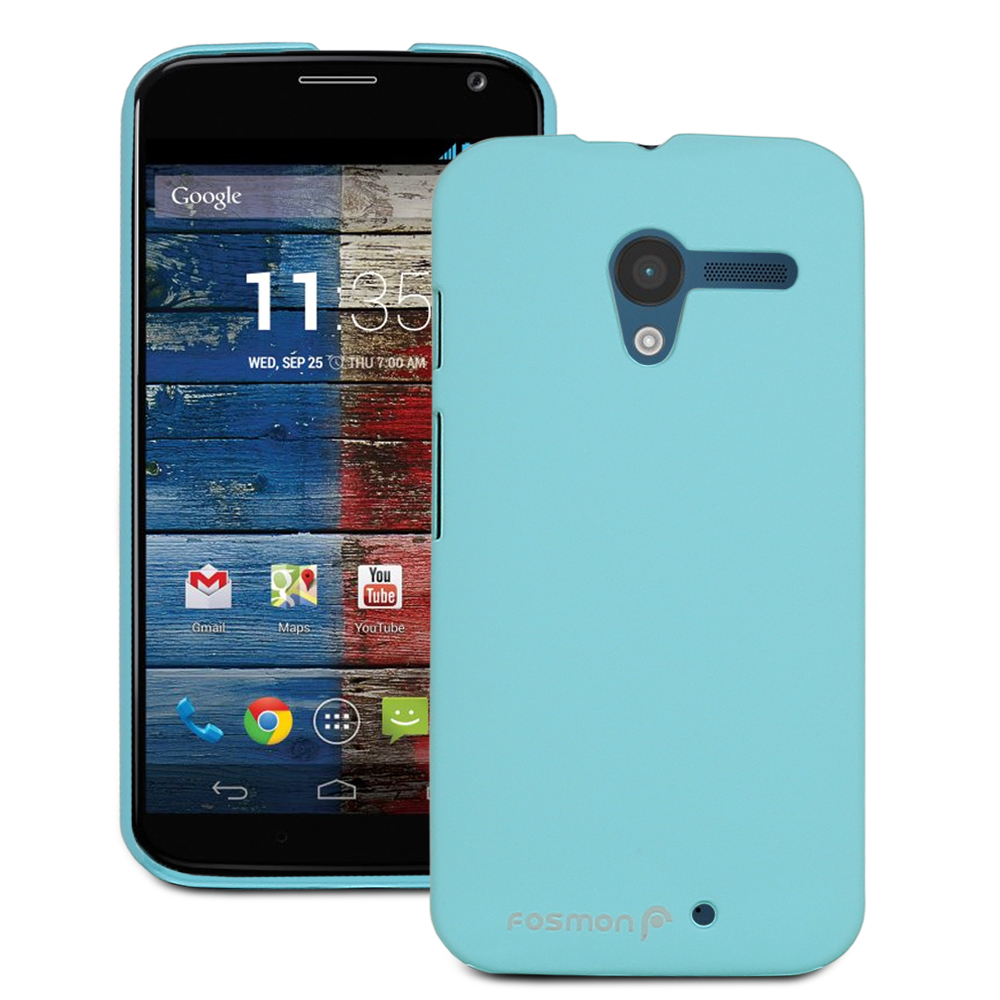 Rubberized Matte Hard Cover Snap On Soft Case Skin Accessory For Motorola Moto X