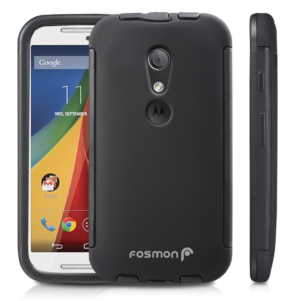 New For Motorola Moto G 2nd Gen Hybrid TPU Case Cover ...