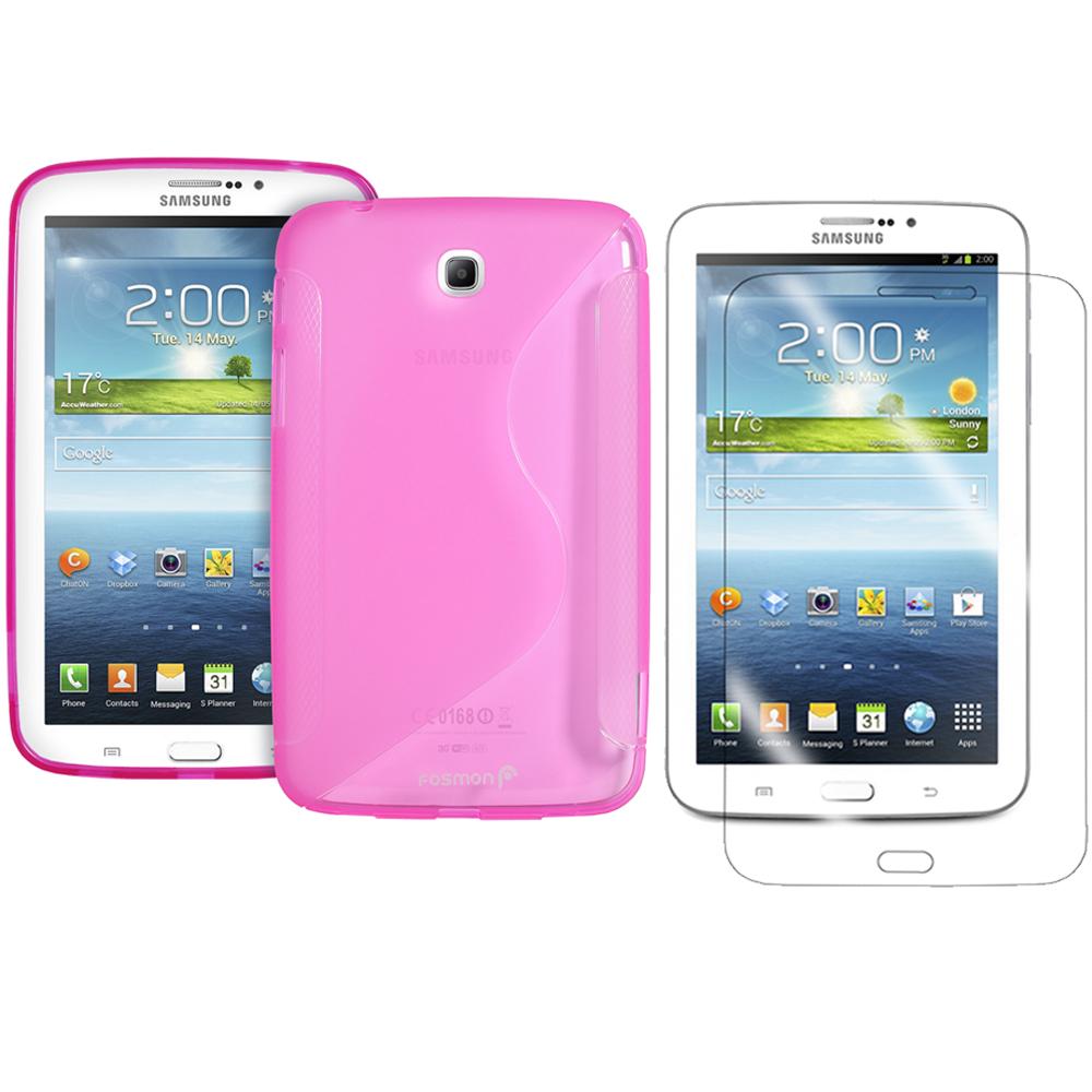 Samsung Galaxy Tab 3 7 Inch TPU Rubber Gel Case Cover S