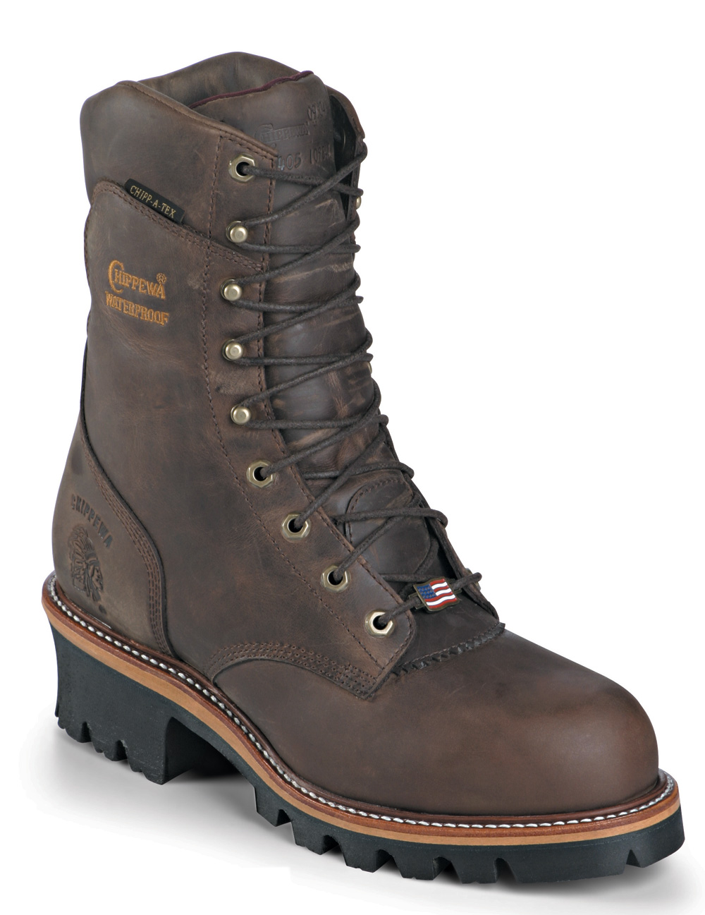 Chippewa Mens Insulated Waterproof Super Logger EH Rated USA Made 25408 (EEE) at Sears.com
