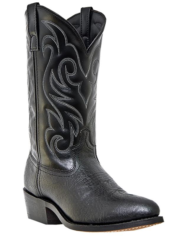 Laredo Men's Cowboy Western Boot Fashion LAREDO Dallas Medium RToe Black 28_1820 at Sears.com