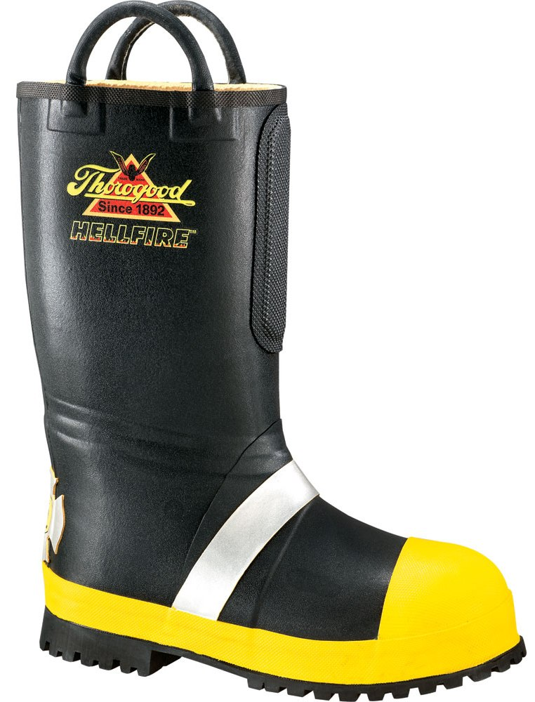 Thorogood Men's Hellfire Rubber Insulated Fire Boots (D, M) Safety Toe 807-6000 at Sears.com