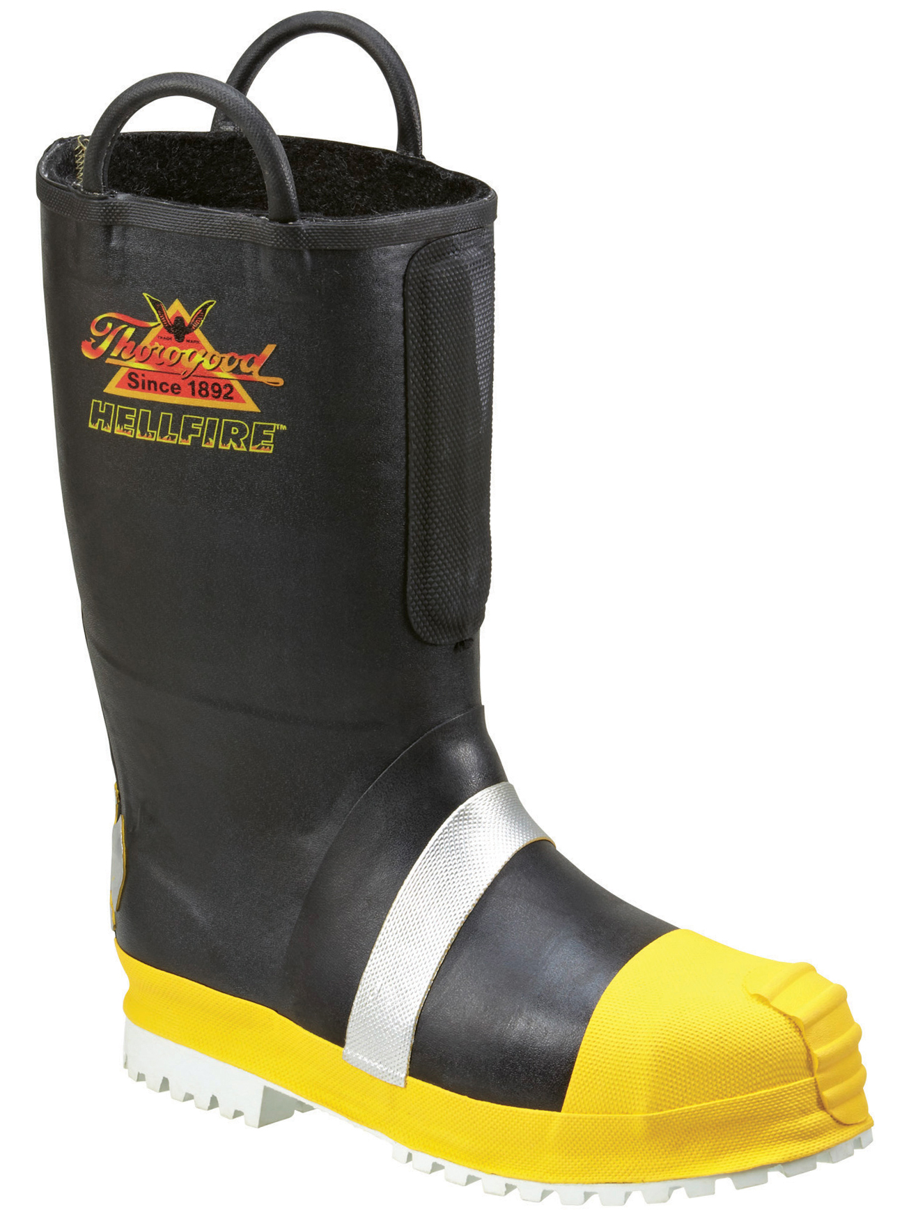 Thorogood Men's Thorogood Fire Boots Flame Heat Resistant Rubber Insulated Medium (D, M) Safety Toe 807-6003 at Sears.com