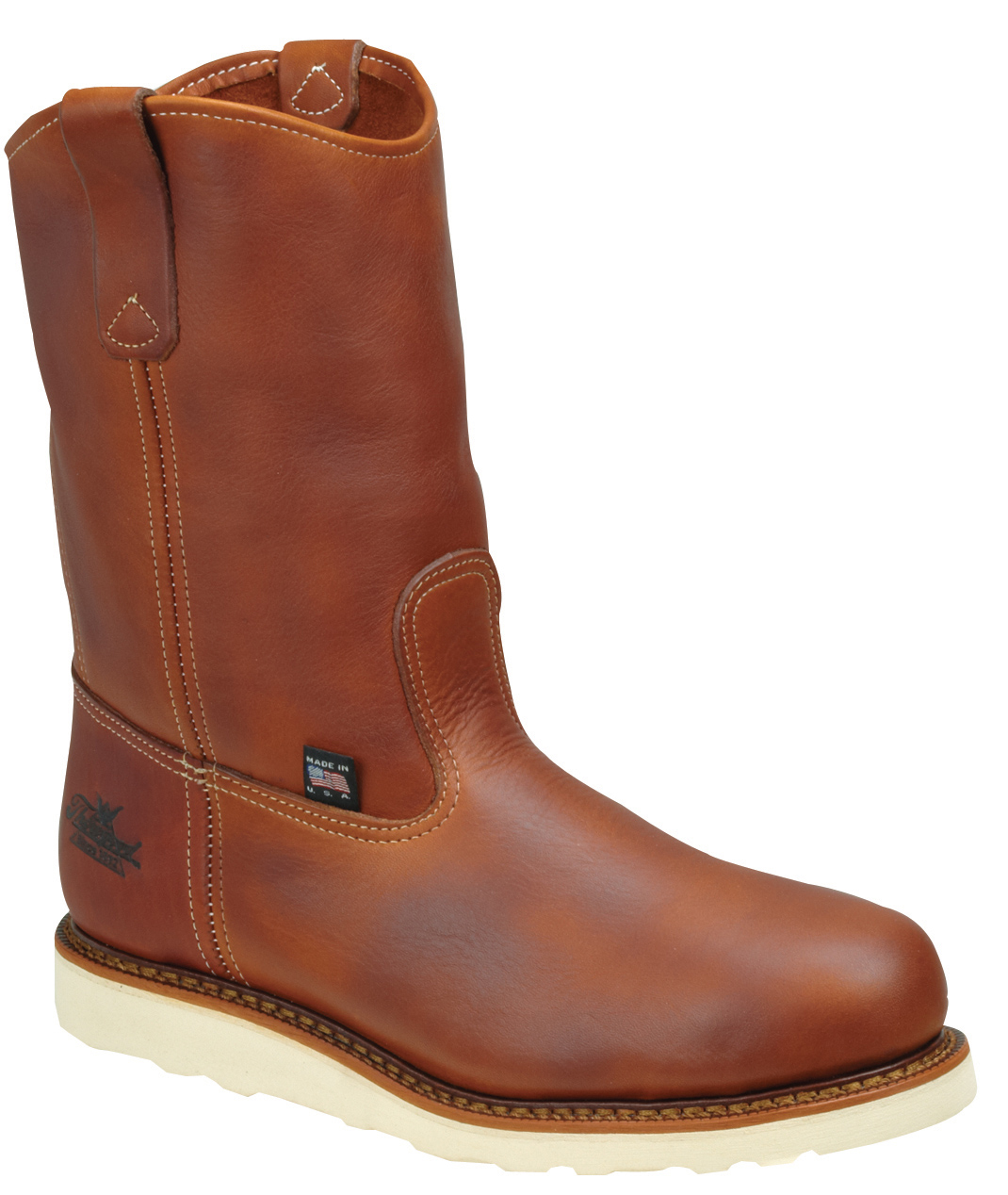 Thorogood Men's Thorogood Work Boots Wellington Non-Safety (E,W) Brown 814-4208 at Sears.com