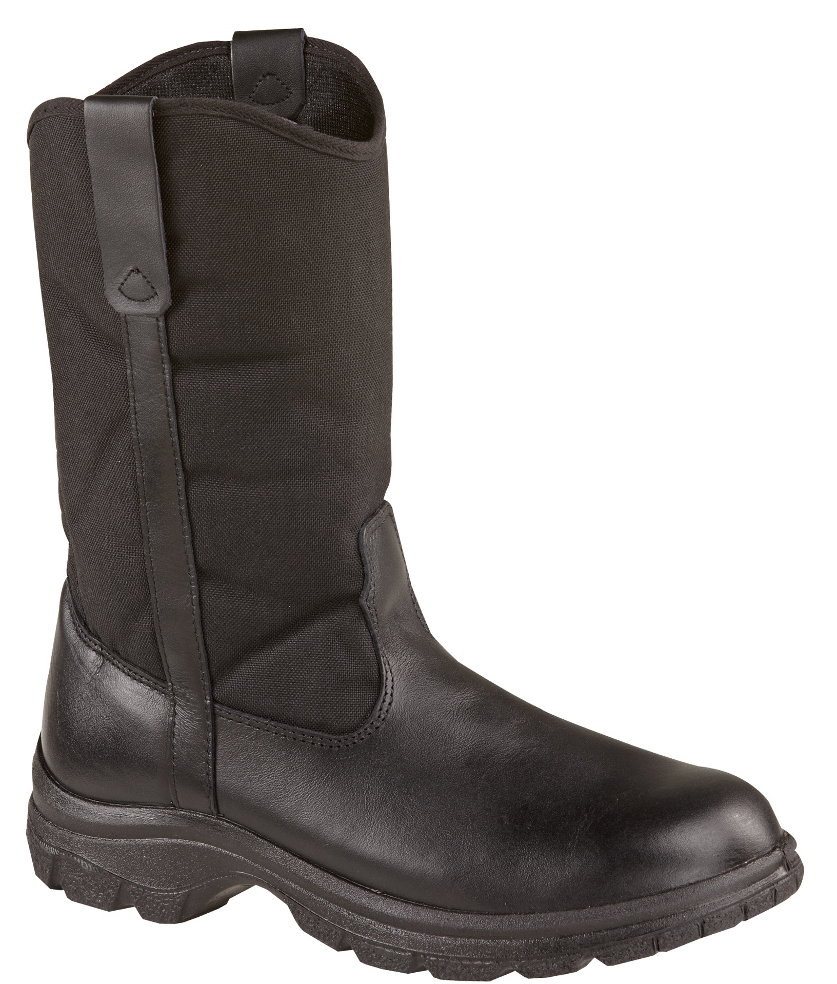 "Thorogood Men's Thorogood Work Station Boots 10"" Wellington Non-Safety Medium (D, M) Black Leather 834-6211 at Sears.com"