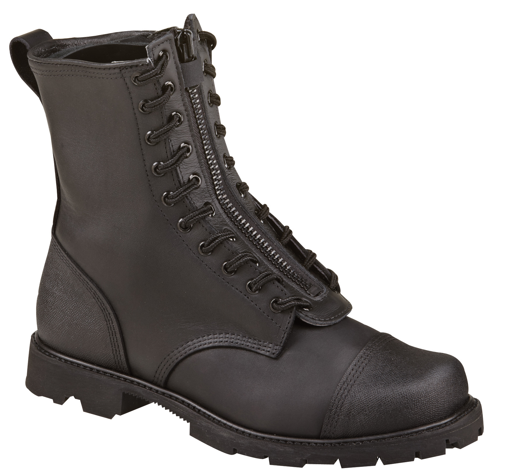 "Thorogood Men's Thorogood 10"" Wildland Fire Boots With Removable Zipper Black Leather Medium (D, M) 834-6373 at Sears.com"
