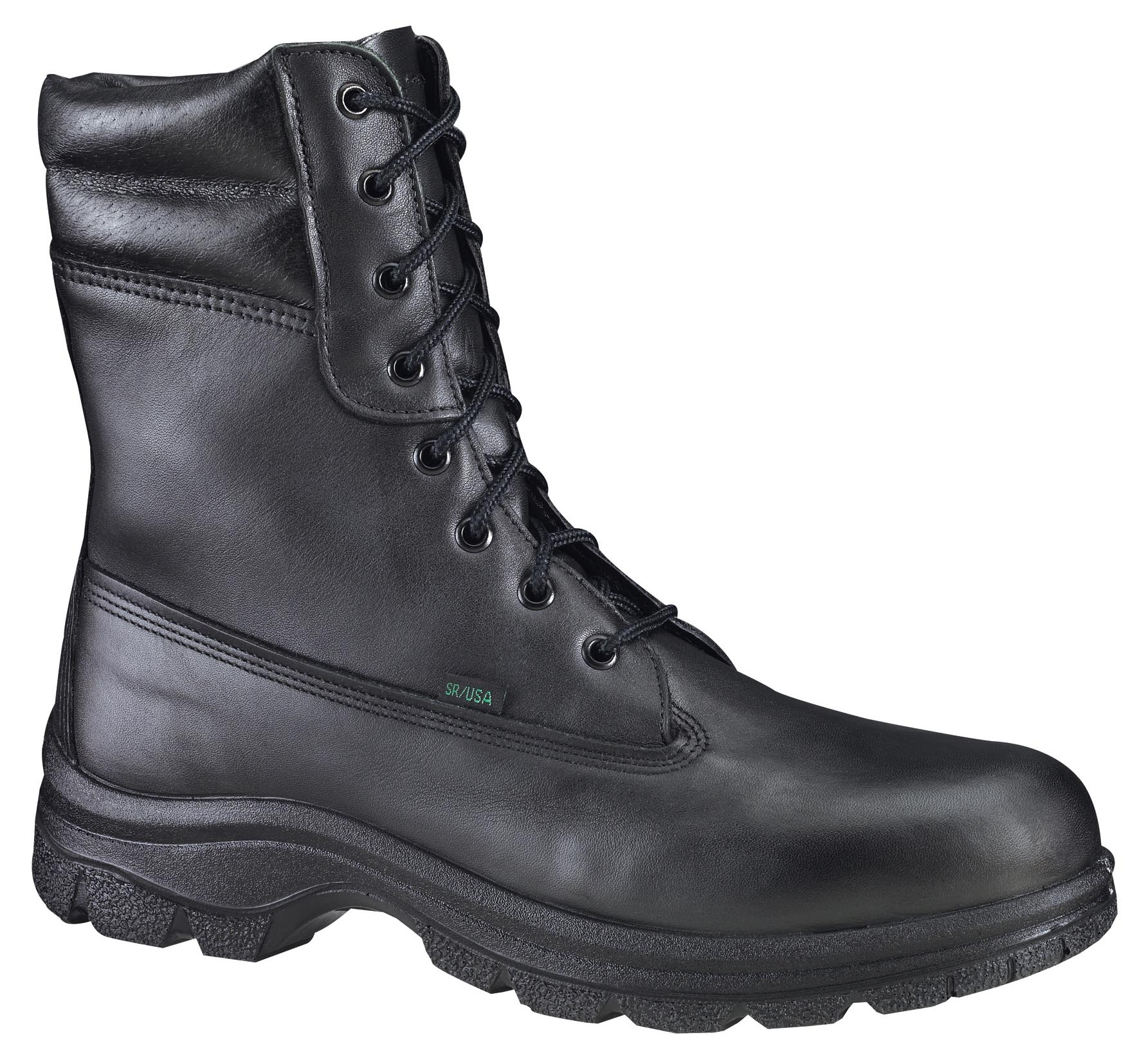 "Thorogood Men's Lace Up Resistant Thorogood 10"" Wildland Fire Boot Black Leather Wide (EE) 834-6731 at Sears.com"
