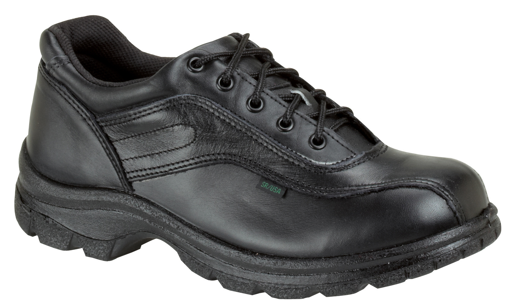 Thorogood Men's Thorogood Uniform Work Shoes Double Track Oxfords Leather Wide (EE) Black 834-6908 at Sears.com