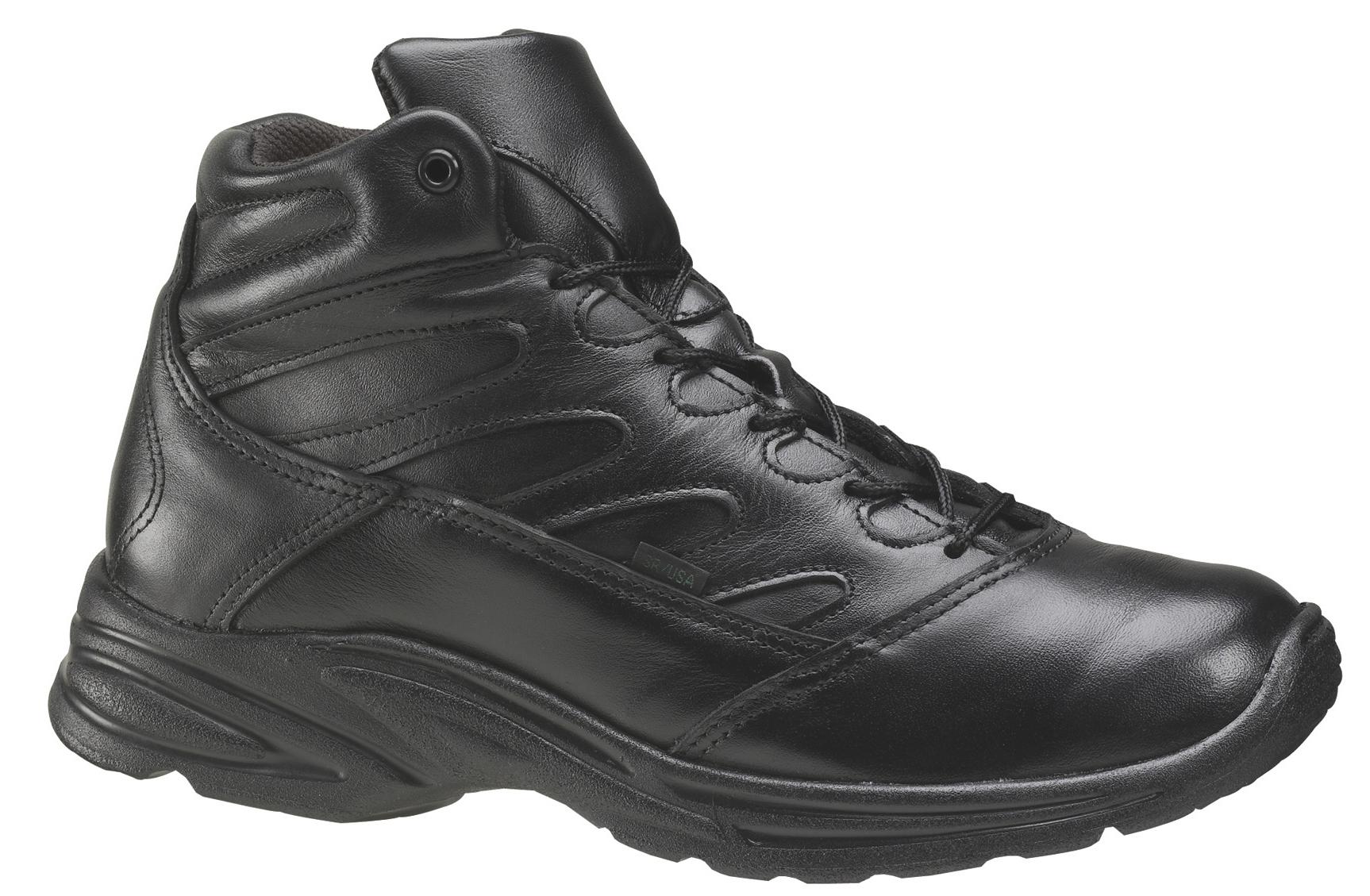 Thorogood Mens Thorogood Uniform Work Shoe Athletics Mid Cut Liberty (EE+) Black 834-6933