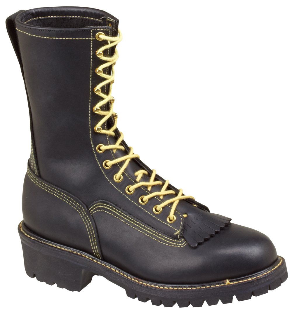 "Thorogood Mens Work Boots Flame Resistant 10"" Thorogood Wildland Black Leather Medium (D, M) 834-6371 at Sears.com"