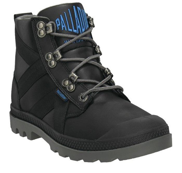 Palladium Women's Palladium Pampa Thermal Mid Boot Waterproof Leather Black 92910-068