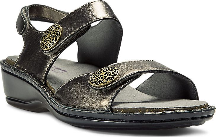 ARAVON Women's Aravon Candace Sandal by New Balance Pewter Extra Wide (2E) AAL09PT at Sears.com
