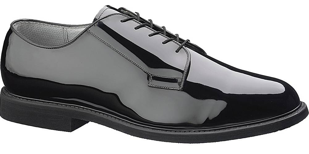 Bates Mens Bates High Gloss Oxfords Casual Dress Shoes Breathable Lining (C) E00007 at Sears.com