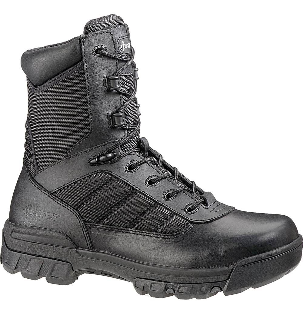 "Bates Men's Bates Enforcer Ultralit 8"" Tactical Sport Boot Black Leather Wide E02260 at Sears.com"