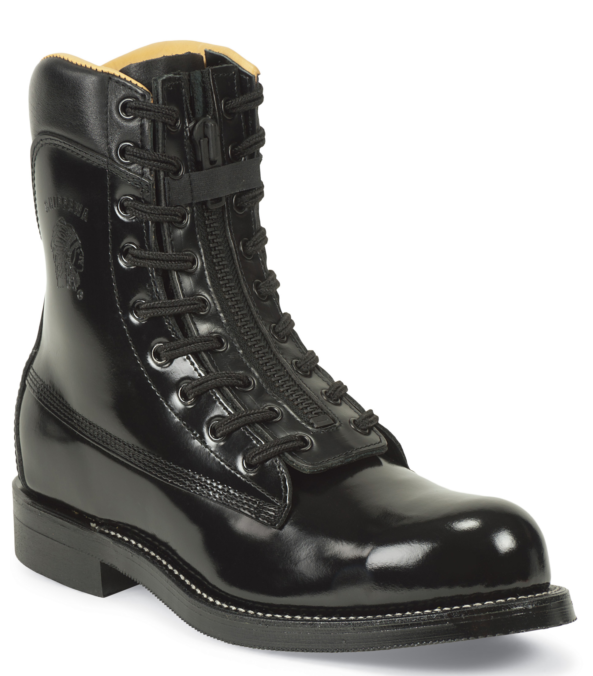 Chippewa Men's Chippewa Steel Toe Melo-Veal Work Boot Made In USA Black 20242 Medium at Sears.com