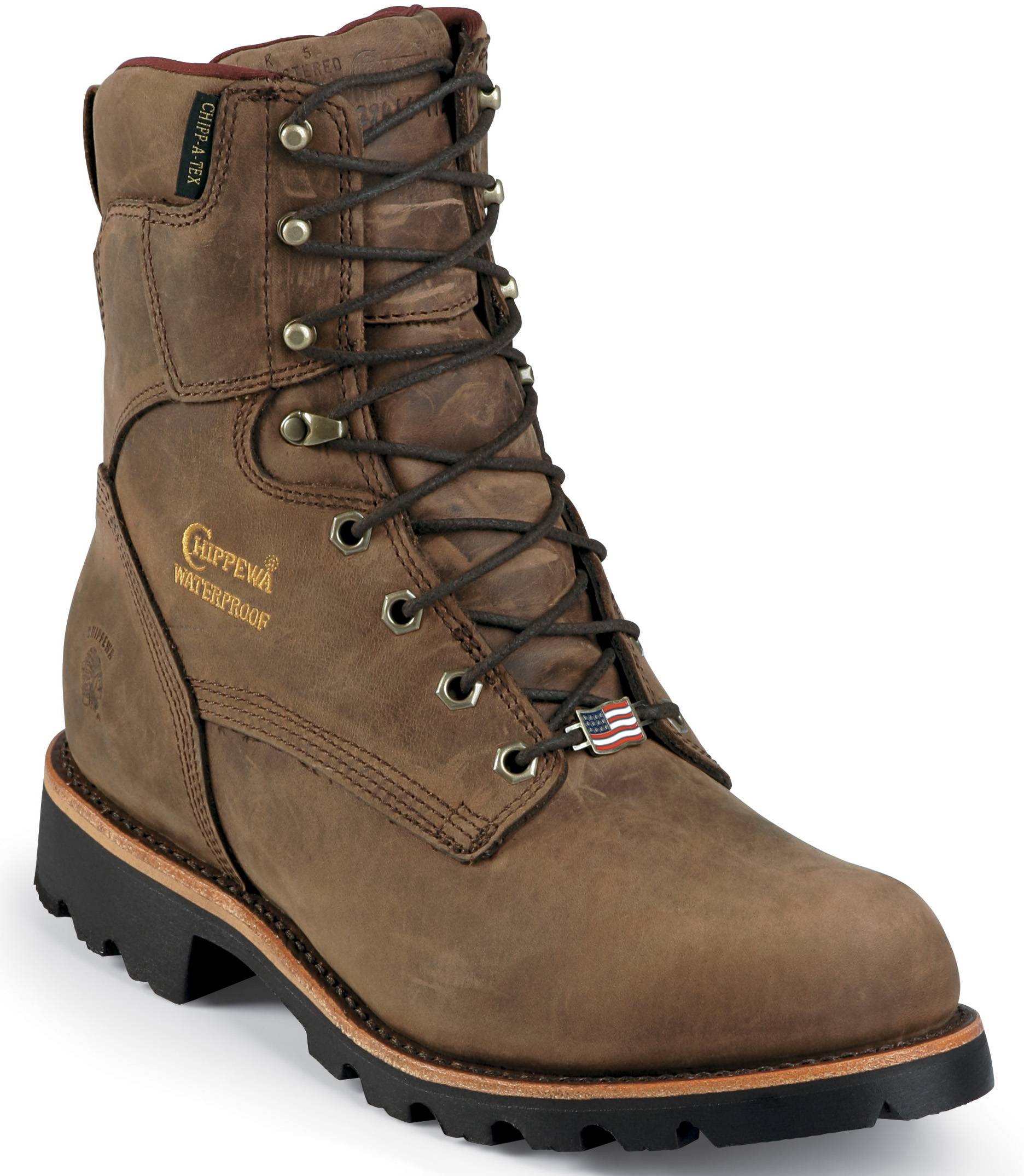 Chippewa Men's Waterproof Insulated Utility Work Boots Made In USA 29416 (EEE) at Sears.com