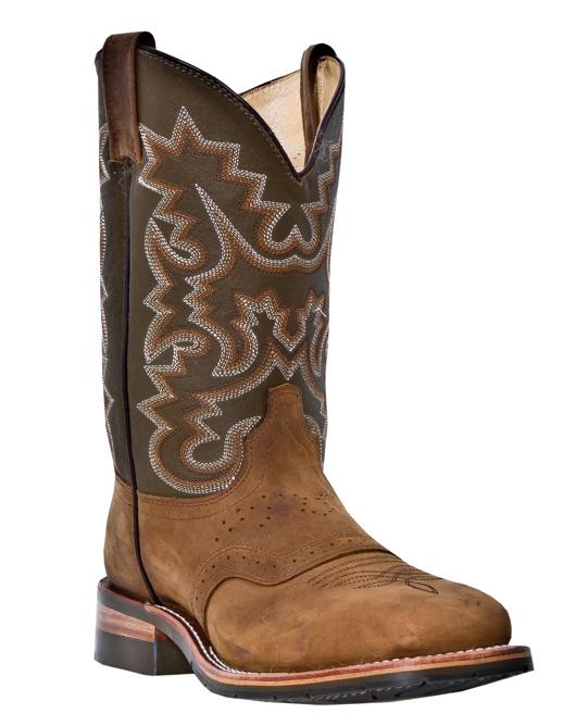 Dan Post Men's Dan Post Indian Wells Western Steel Toe Boots Tan Leather Wide DP69790