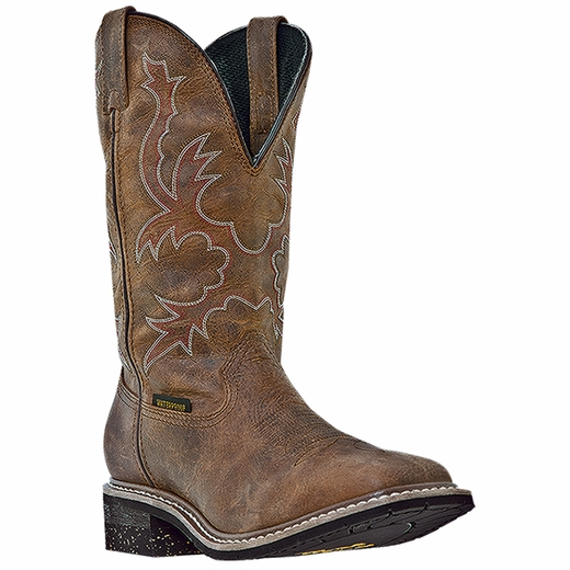Dan Post Men's Western Work Boots Dan Post Nogales Waterproof Wide (EEE) Broad Square Toe Brown DP69791 at Sears.com