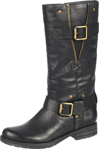 Naturalizer Women's Naturalizer Ballona Black Mid Calf Boots Wide