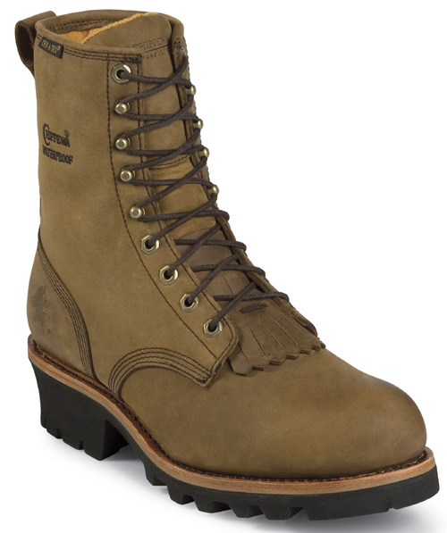 Chippewa Women's Chippewa Waterproof Insulated Steel Toe Logger Boot Brown L26341 (B,M) at Sears.com