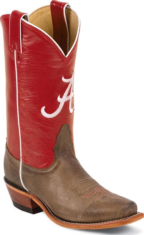Nocona Women's ALA University of Alabama Crimson Tide Boots Medium LDALA22 at Sears.com