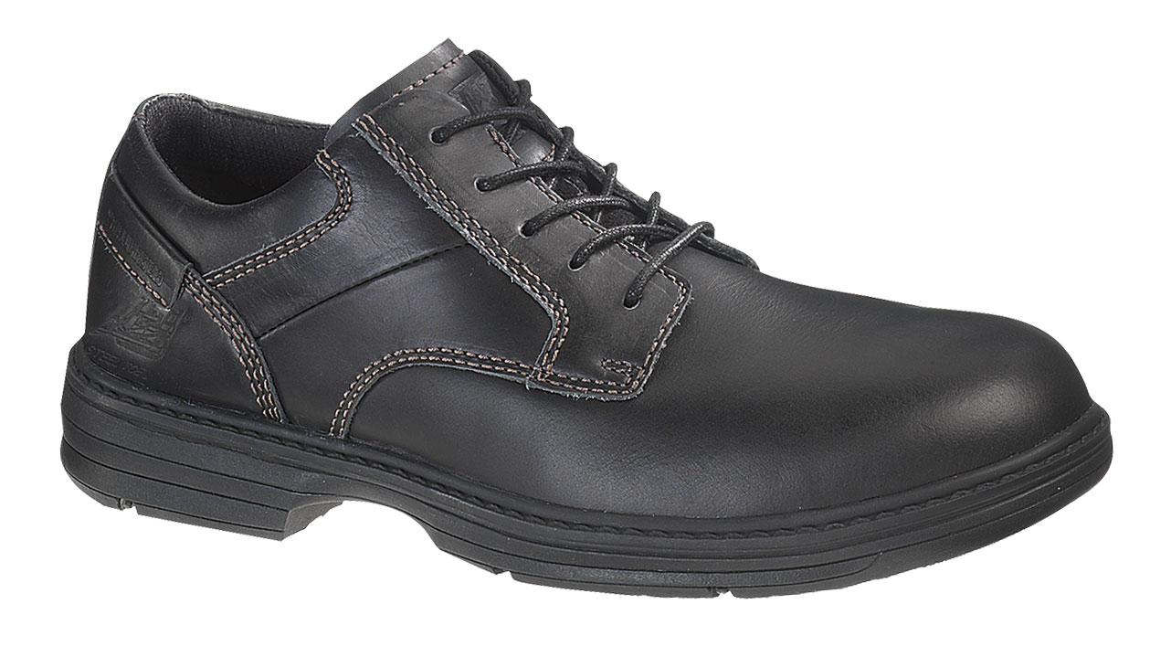 Caterpillar Mens Caterpillar Oversee Steel Toe Oxford Work Shoes Electro-Static Black Leather (D, M) P90015 at Sears.com