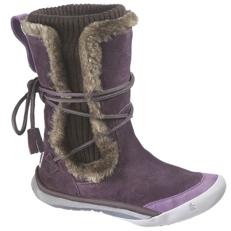 CUSHE Womens Cushe IT Boot Cuff Waterproof Winter Boots Purple Suede B(M) UW00312 at Sears.com