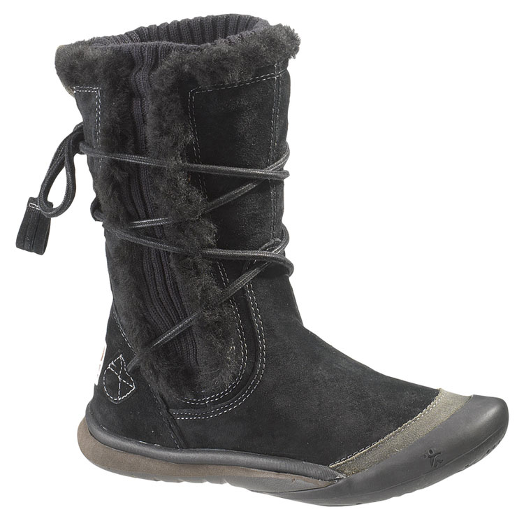 CUSHE Womens Cushe IT Boot Cuff Waterproof Winter Boots Black Suede B(M) UW00332 at Sears.com