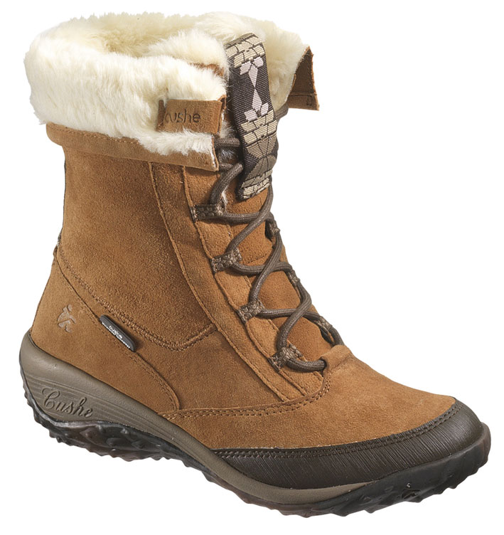 CUSHE Womens Cushe Allpine Cone Waterproof Winter Boot Lace-Up Tan Suede B(M) UW00902 at Sears.com