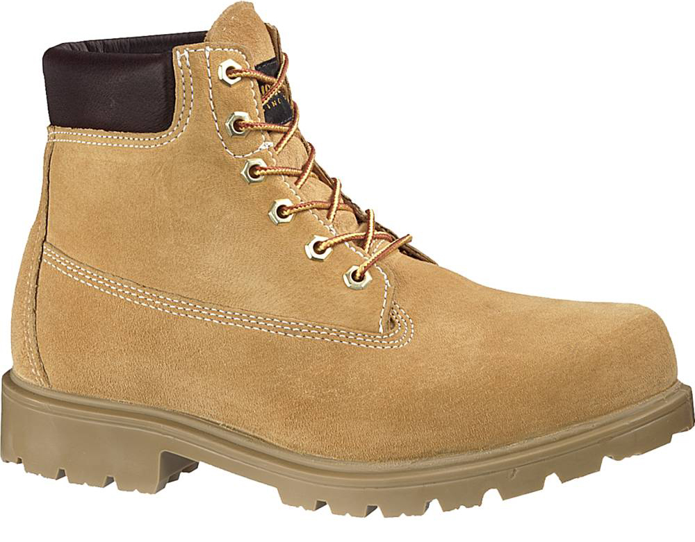 Wolverine Mens Wolverine Brek Leather Electric Hazard Steel Toe Work Boots Beige Medium (D, M) W01123 at Sears.com
