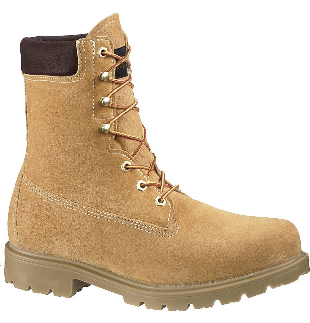 Wolverine Mens Wolverine Brek Leather Waterproof Insulation Work Boots Beige Wide (EE) W01124 at Sears.com