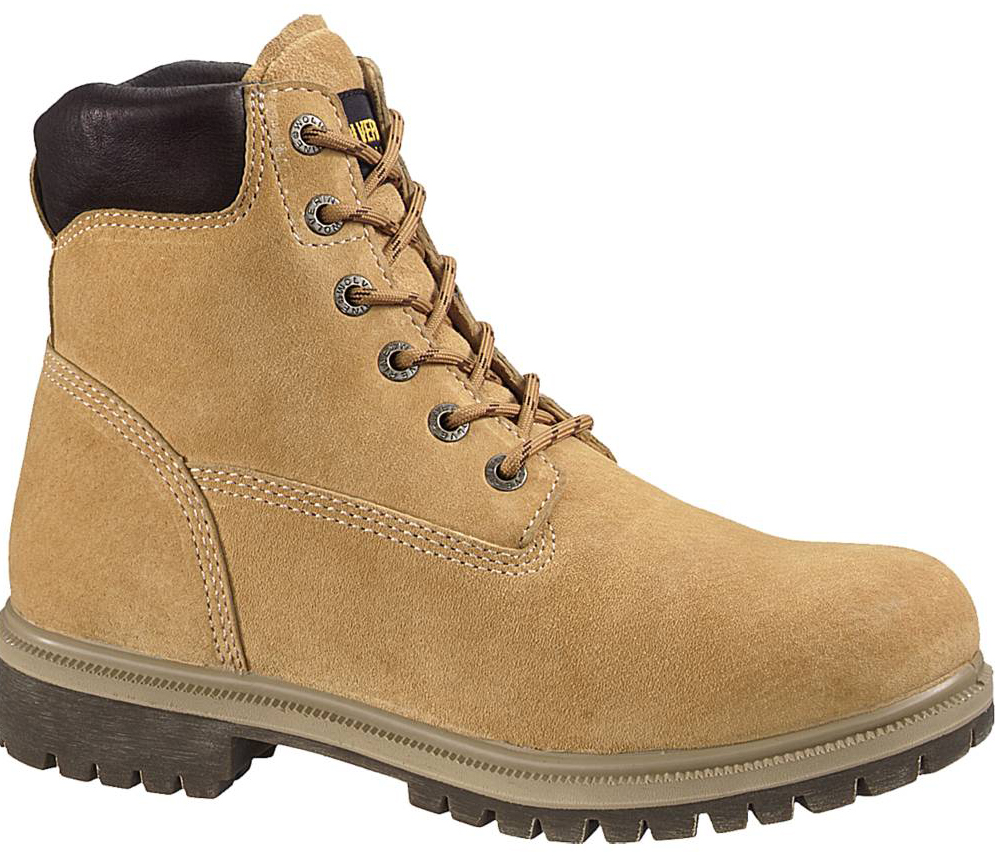 Wolverine Mens Wolverine Brek Leather Waterproof Thermal Foam Work Boots Beige Medium (D, M) W01191 at Sears.com