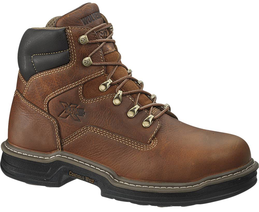 Wolverine Mens Wolverine Raider MultiShox Contour Welt Work Boots Medium (D, M) W02419 at Sears.com