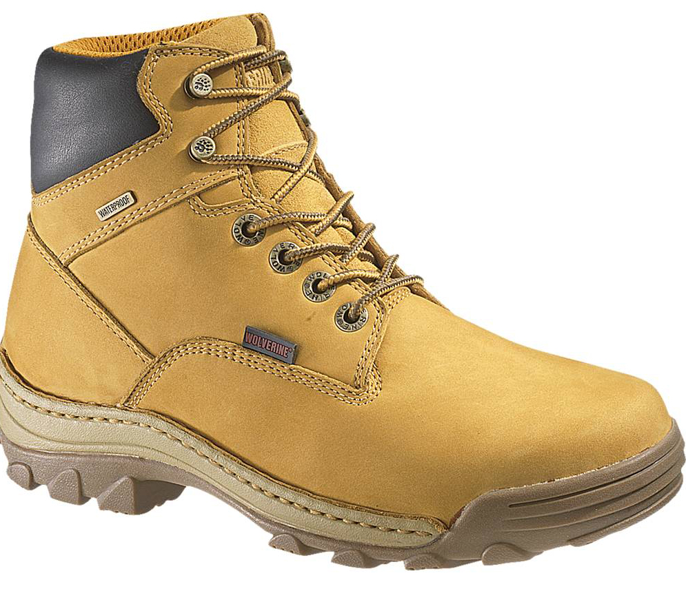 Wolverine Mens Wolverine Brek Leather Dublin Insulated Leather Work Boots Beige Medium (D, M) W04780 at Sears.com